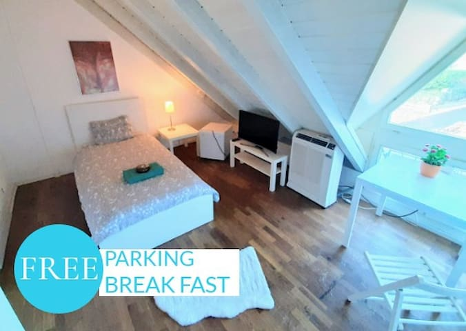 🏡《 Single Bed Room》 in trendy INT GUESTHOUSE #203