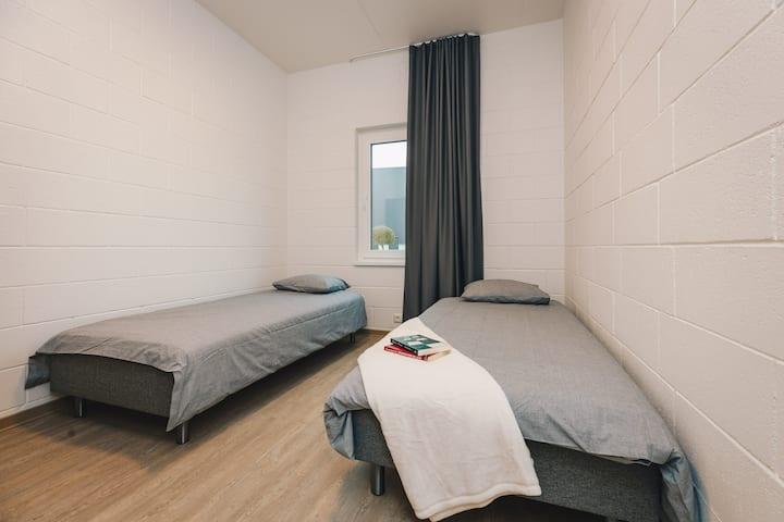 Hubane kahe magamistoaga korter Peetris