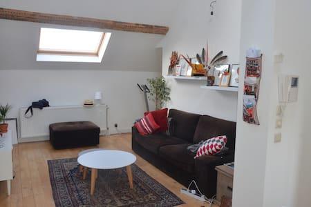 Appartement cosy, super lumineux, proximité centre - Saint-Gilles