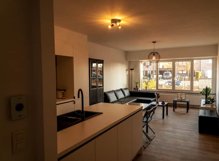Cosy new ground floor appartement with garden