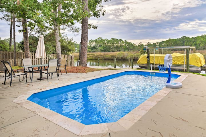 Waterfront Home in Pass Christian Isle w/ Pool!
