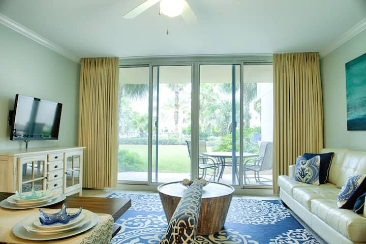 Waterscape B228 ~ Ground Floor ~ Designer Remodel ~ Walk Right Out to the Pool!!