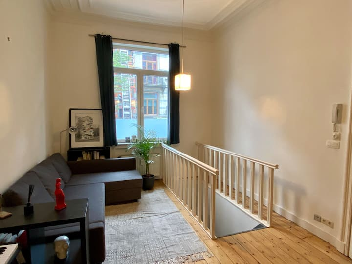 Bright apartment in Brussels center