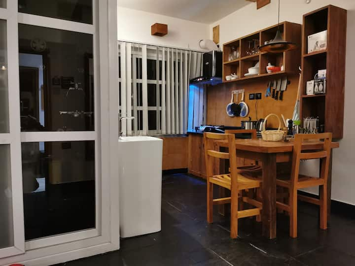 One Bedroom Apartment(with fully equipped kitchen)