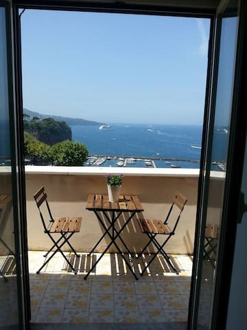 Wonderful breathtaking sea view on the gulf - Piano di Sorrento - Wohnung
