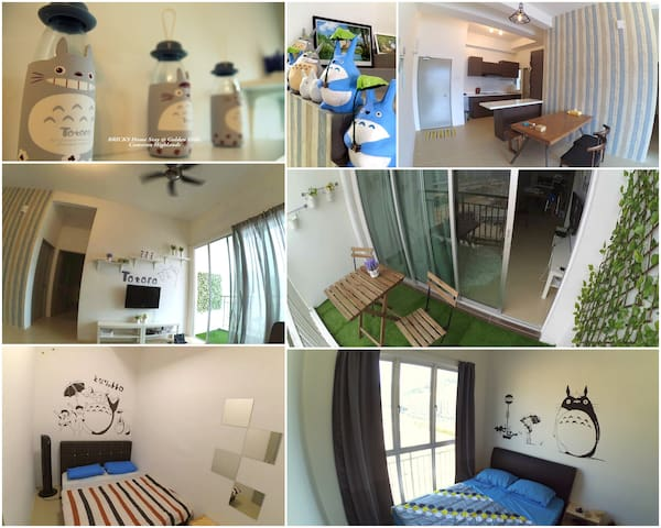 BRICKS Homestay @ Cameron Highlands - Brinchang - Leilighet