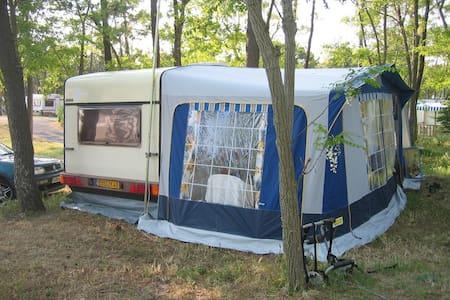 Location caravane à Noirmoutier accès direct mer - Barbâtre