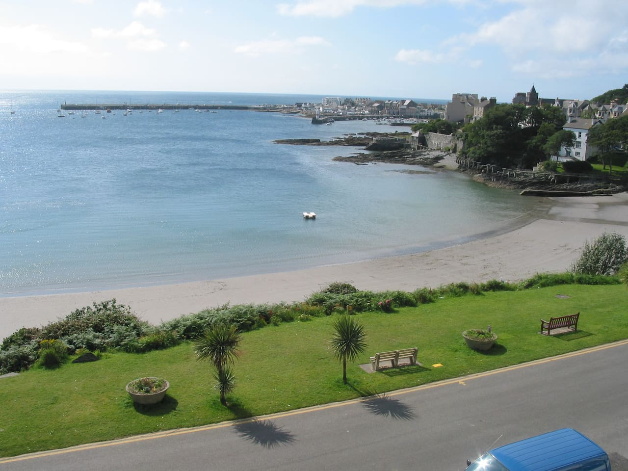 Port St Mary Bay - view from front of house