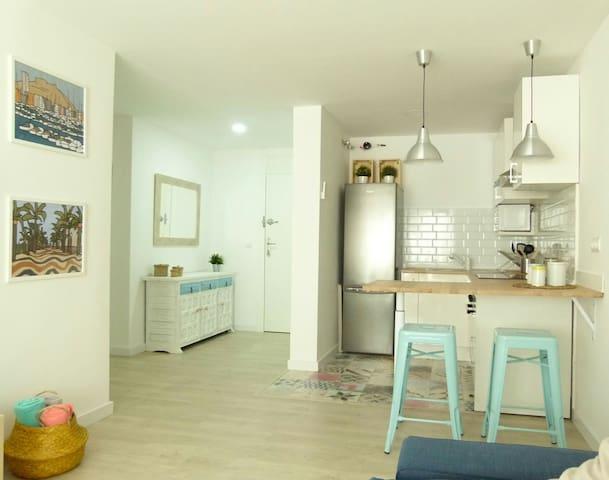 Apartamento en Alicante centro. Nuevo y reformado