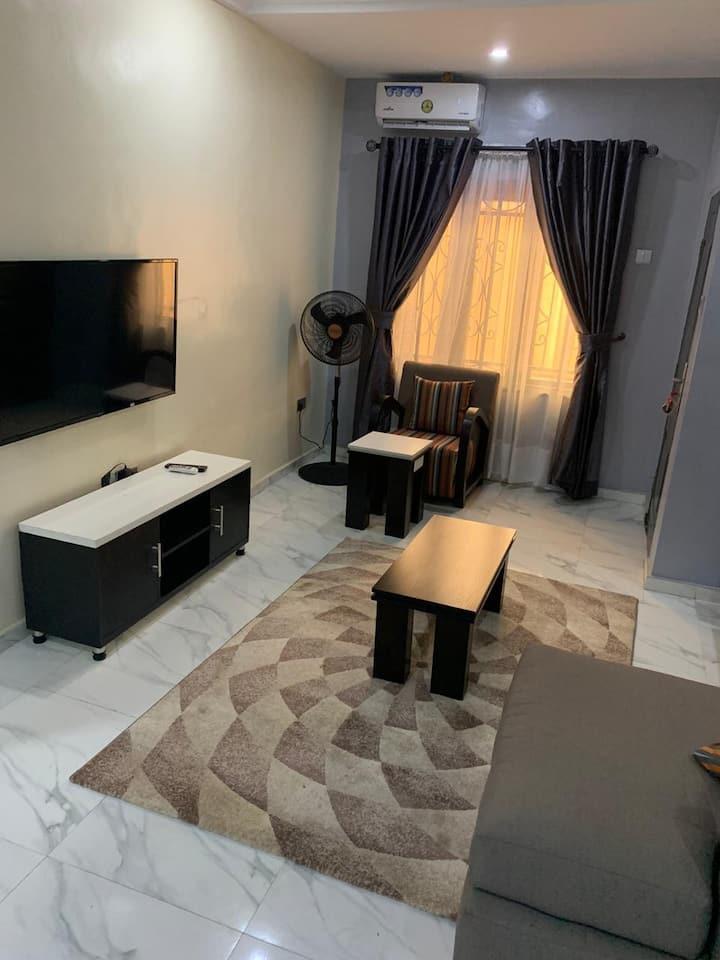 Tastefully furnished 2 bedroom apartment in Ikotun