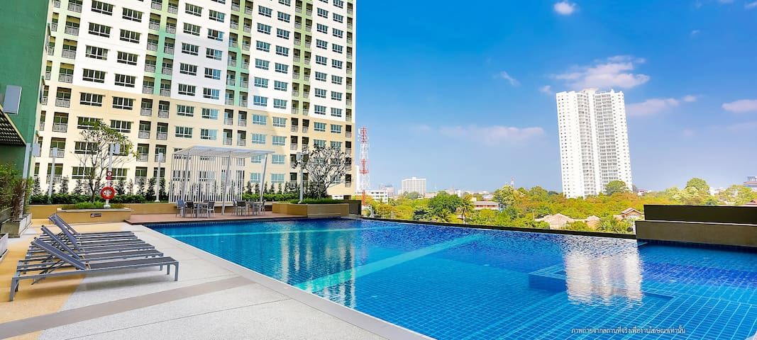 LUMPINI A2-SEASIDE UNIT,1BR,FREE POOL +GYM