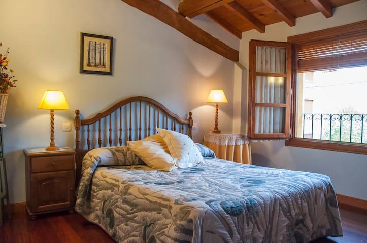 Habitacion con cama 1,50 y se puede usar la cocina - Santurde de Rioja - Hus