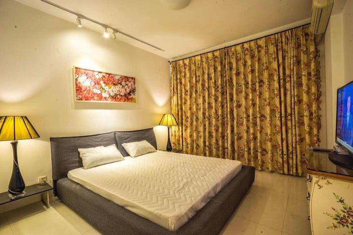 水木女舍 A1 大床房 花园、书房 、音乐室 、茶室  独享阳光、悠然、宁静