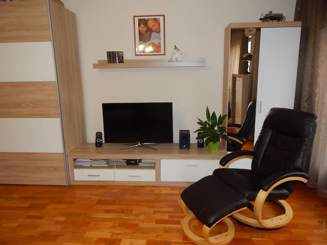 Child-friendly apartment near FINA and Sziget fest - Budapest - Apartemen