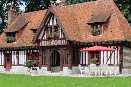 Maison normande proche Etretat, Chambre Romantique