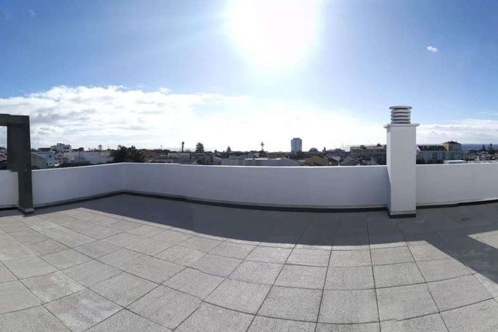 Vista terraço privado
