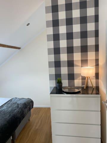 Maisonette Wohnung - Schlafzimmer 1