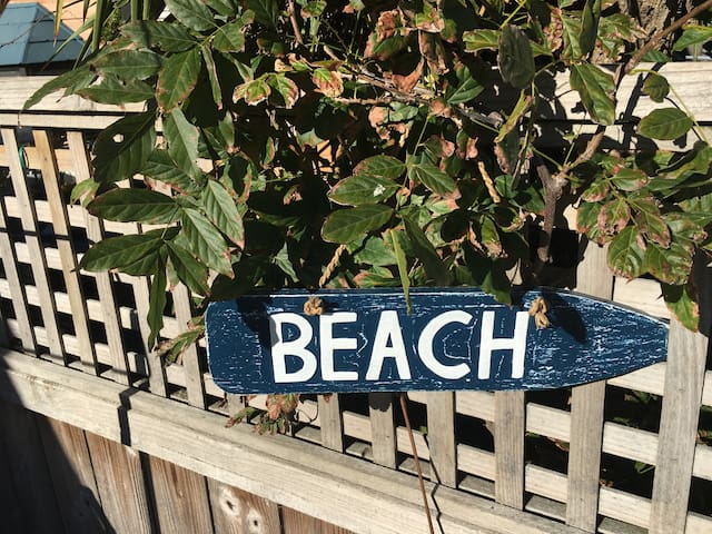 Stroll to the Beach...