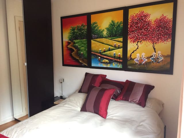 Double room with ensuite, 4 miles from Leamington - Warwickshire