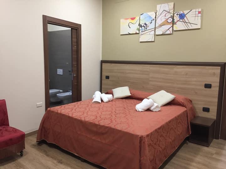 Camera da letto matrimoniale king con bagno