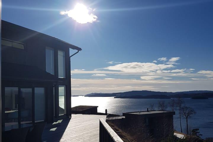 Traumhafter Fjordblick