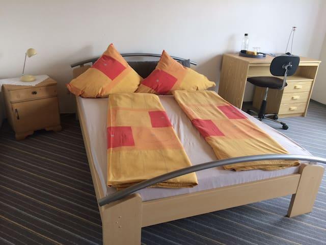 Zweibettzimmer  Steinwaldblick Radler Wanderer Erholung pur ruhiges Zimmer