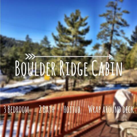 Prime Boulder Bay cabin w/ hot tub - Big Bear Lake - Dom