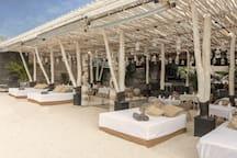 Beachfront of the Villa resort