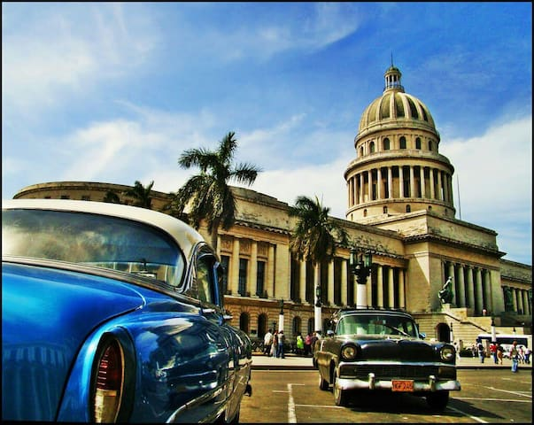 Habana Centrum , big room for rent - La Habana - Casa