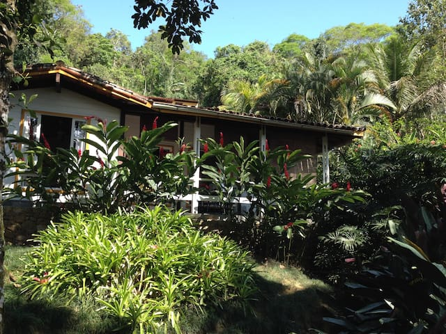 Wooden Chalet in the middle of Atlantic Forest. - Angra dos Reis