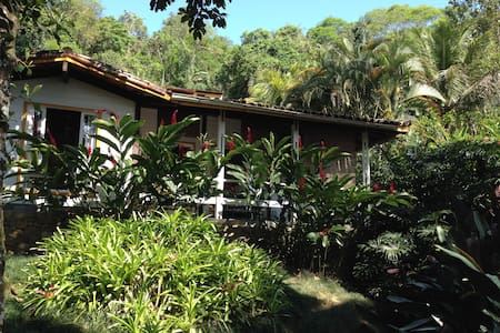 Wooden Chalet in the middle of Atlantic Forest. - Angra dos Reis - Chalet