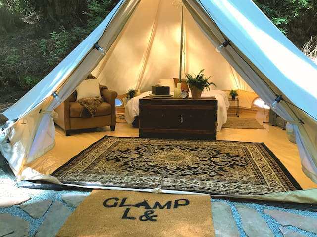 GlampL& {a land of glamorous camping}