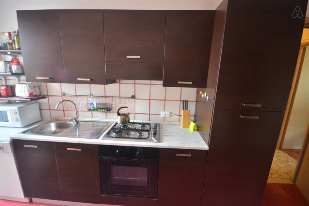 The kitchen is always at your disposal and is fully equipped