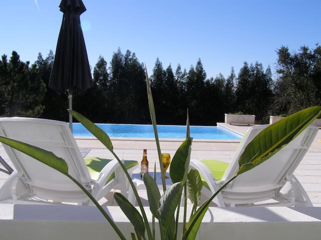 Luxury Apartment with shared infinity pool - Salir de Matos - Pis