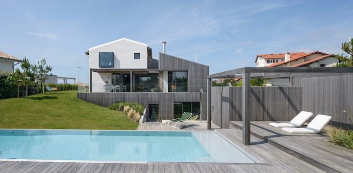 Biarritz, Villa d'exception 400m2, Plage à 100m