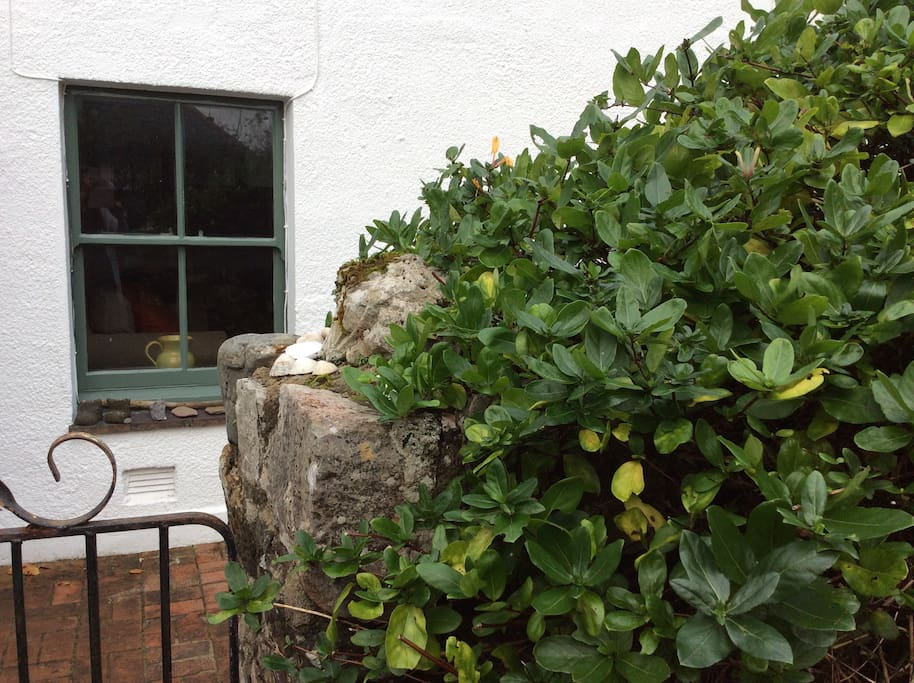 Our seventeenth century fisherman's cottage is tucked away just off the main road