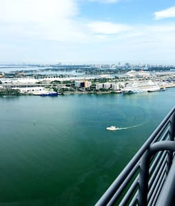 Miami Luxury High Rise Water view