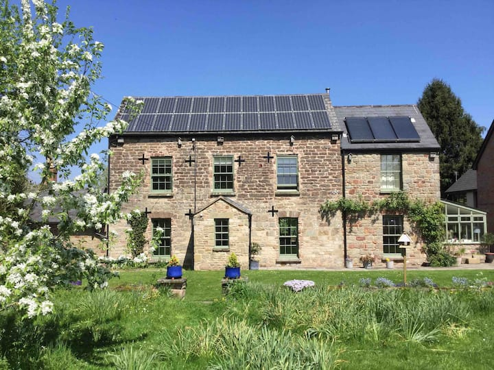 Luxury self contained hideaway in the Wye Valley