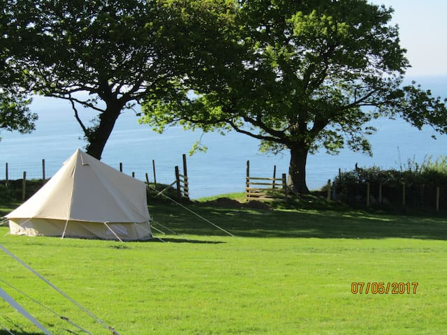 Bell tent -Conwy -Snowdonia-North Wales