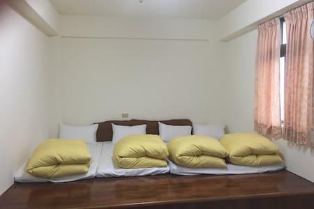 我的房間乾淨舒服,明亮寬敞,歡迎你來池上和我們一起享受生活中的小幸福。