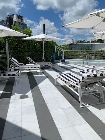Domio | South Beach | Deluxe King Room + Balcony