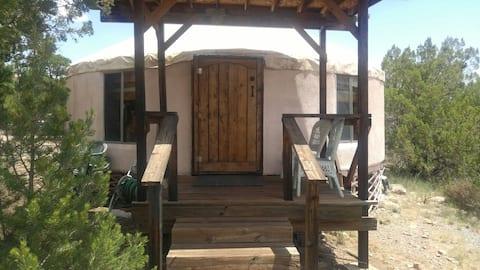MoonFlower Casitas and Retreat-Yurt