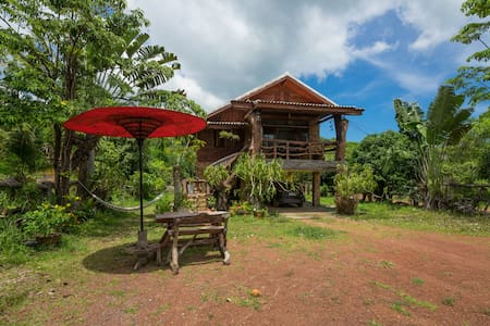 Mountain House - Chalet in nature close to beach - Ampur Koh Lanta
