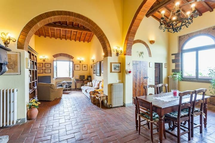 "Tuscan farmhouse  ""Lame di sopra"" Greve in Chianti"