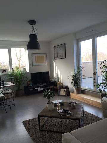 3 pieces au bord de la rivière - Staffelfelden - Appartement