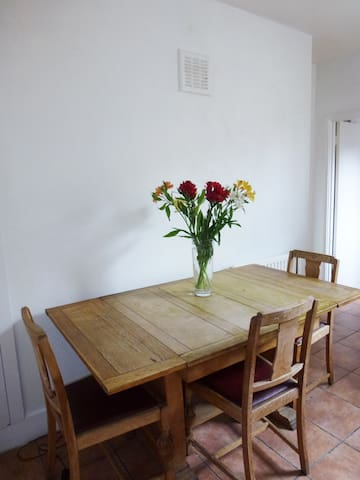 Kitchen - guests can use.