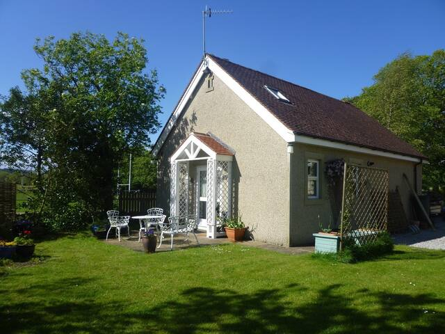 A private Dales lodge in a beautiful location