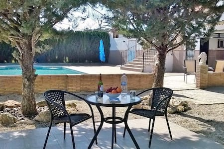 Beautiful and relaxing Villa El Valiente - Lora de Estepa - Villa