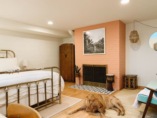Artist's Vintage Oasis Room - The Haig House
