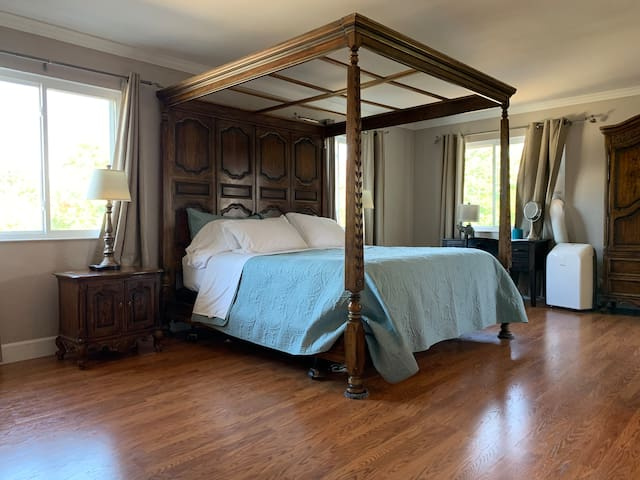 Master Bedroom…Everyone loves this bed!